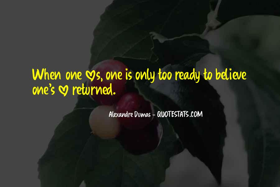 Love Returned Quotes #1400029