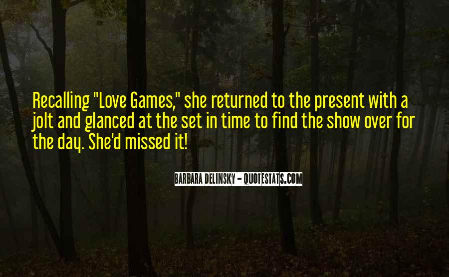 Love Returned Quotes #1537165