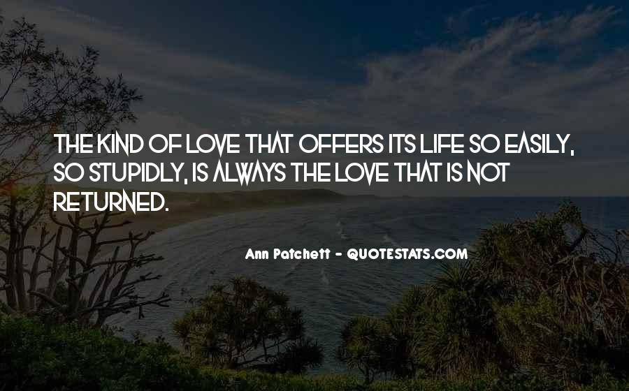 Love Returned Quotes #165852