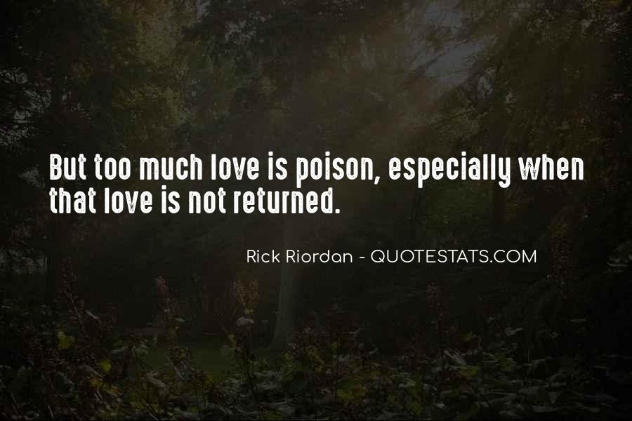 Love Returned Quotes #1723594