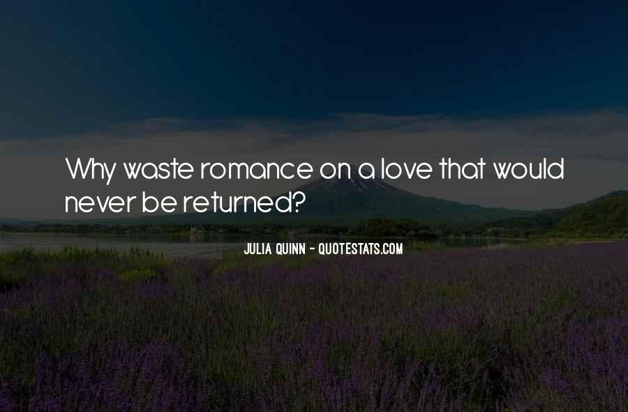 Love Returned Quotes #195970
