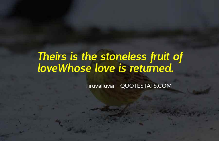 Love Returned Quotes #539221