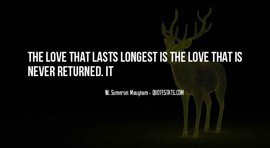Love Returned Quotes #816114