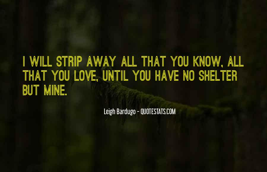 Love Shelter Quotes #421504