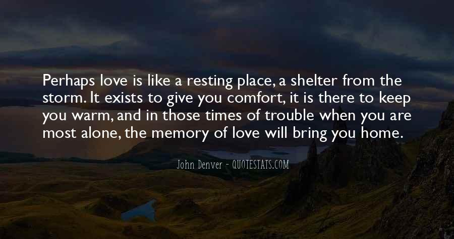 Love Shelter Quotes #553353