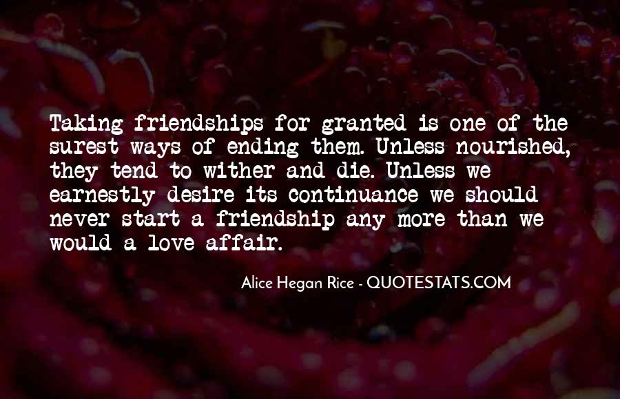 Love Start With Friendship Quotes #189568