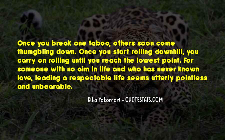 Love Taboo Quotes #777758