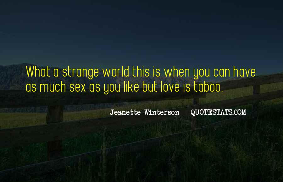Love Taboo Quotes #82686