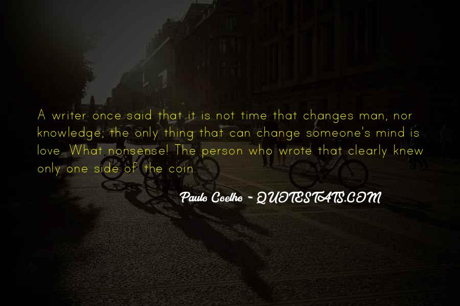 Love That Changes Quotes #760610