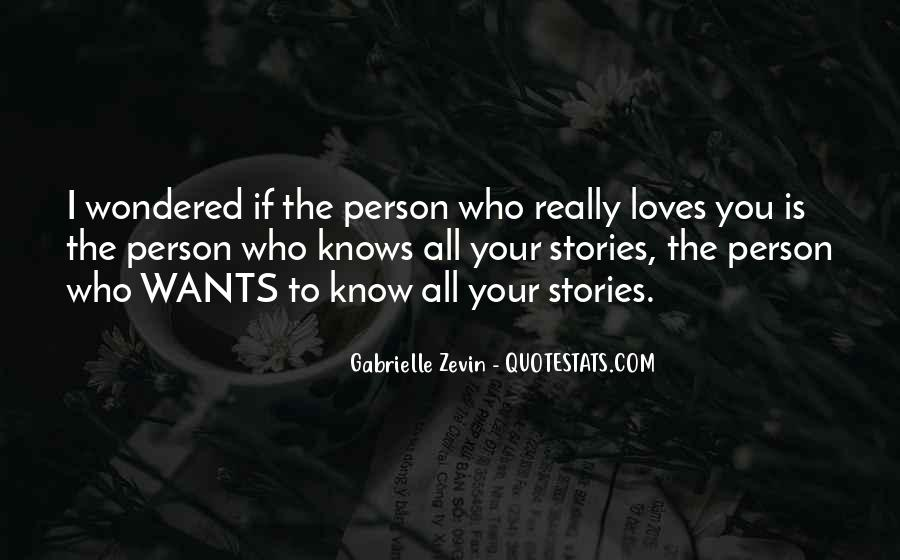 Love The Person Who Loves You Quotes #1043822
