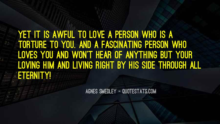 Love The Person Who Loves You Quotes #335199