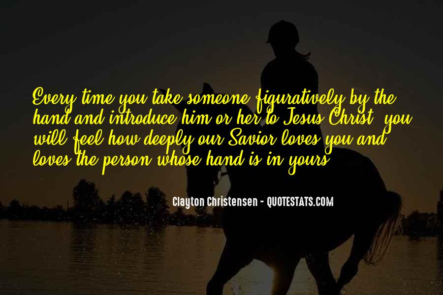 Love The Person Who Loves You Quotes #444983