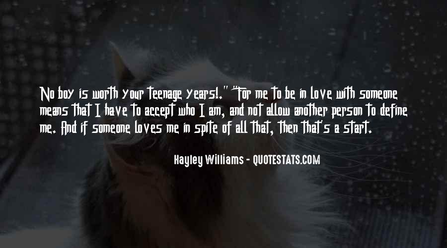 Love The Person Who Loves You Quotes #573314