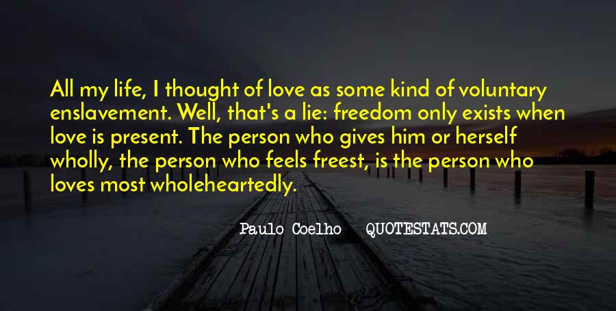 Love The Person Who Loves You Quotes #972481