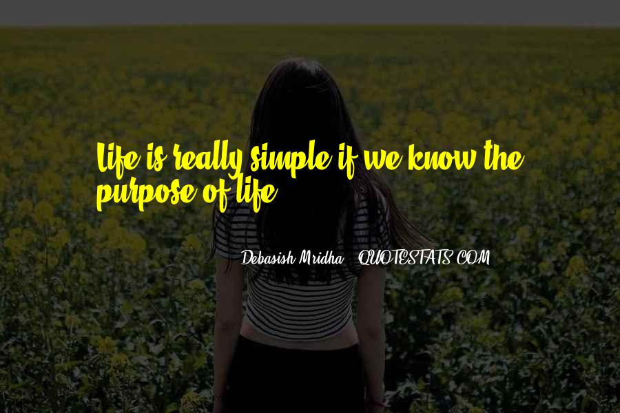 Love The Simple Life Quotes #1578438