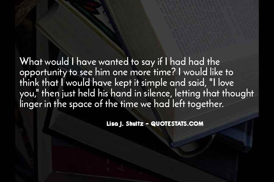 Love The Simple Life Quotes #1618243