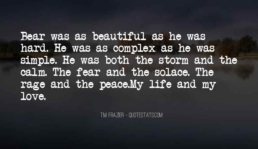 Love The Simple Life Quotes #1683417