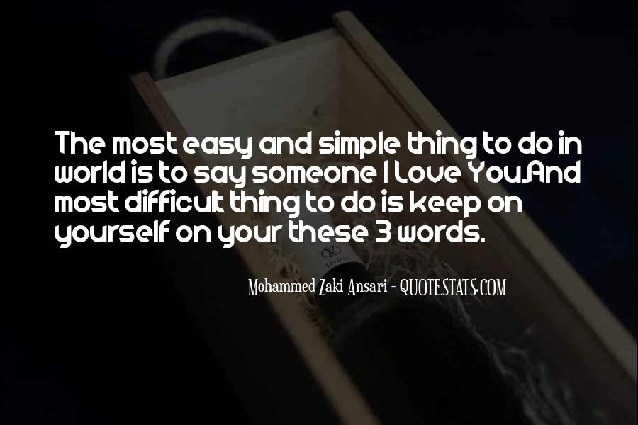 Love The Simple Life Quotes #202663