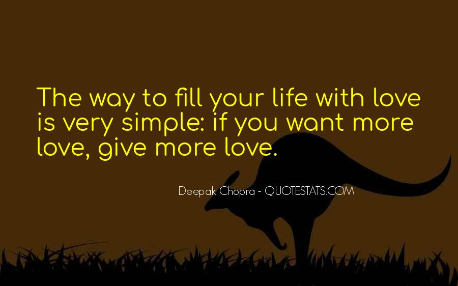 Love The Simple Life Quotes #334590