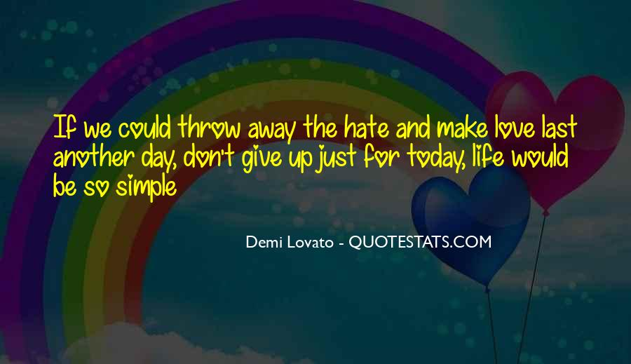 Love The Simple Life Quotes #443124