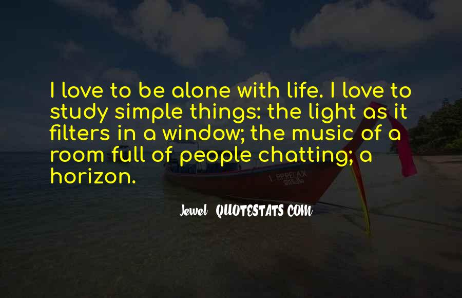 Love The Simple Life Quotes #781018