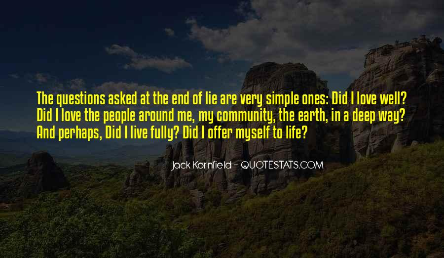 Love The Simple Life Quotes #924520