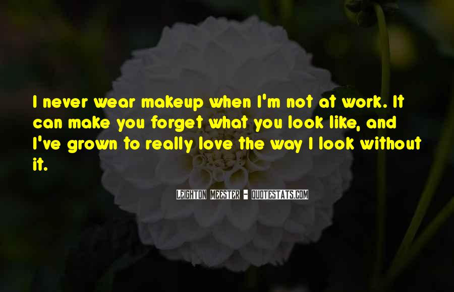 Love The Way You Look Quotes #1393717