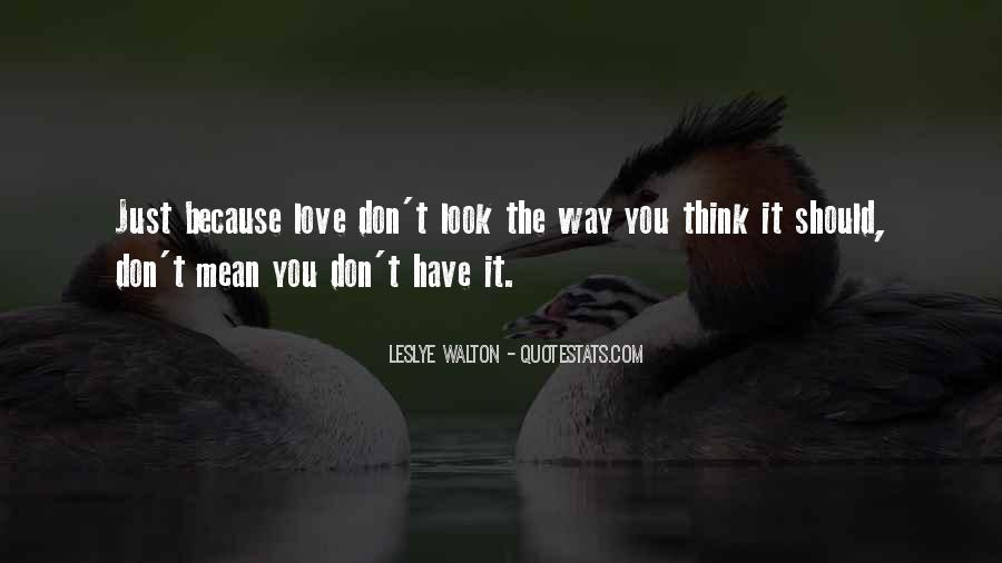 Love The Way You Look Quotes #1516398