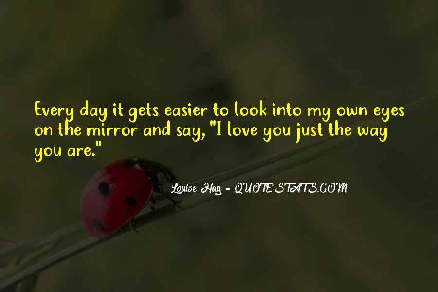 Love The Way You Look Quotes #377023