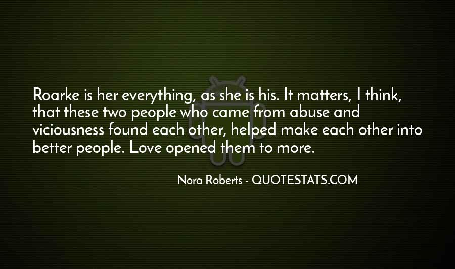 Love These Two Quotes #1191405