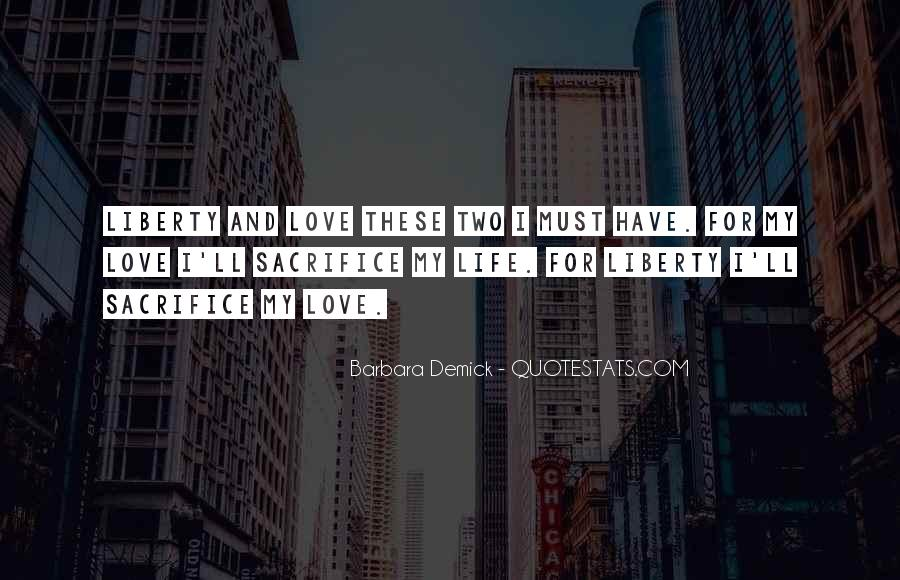 Love These Two Quotes #1191751