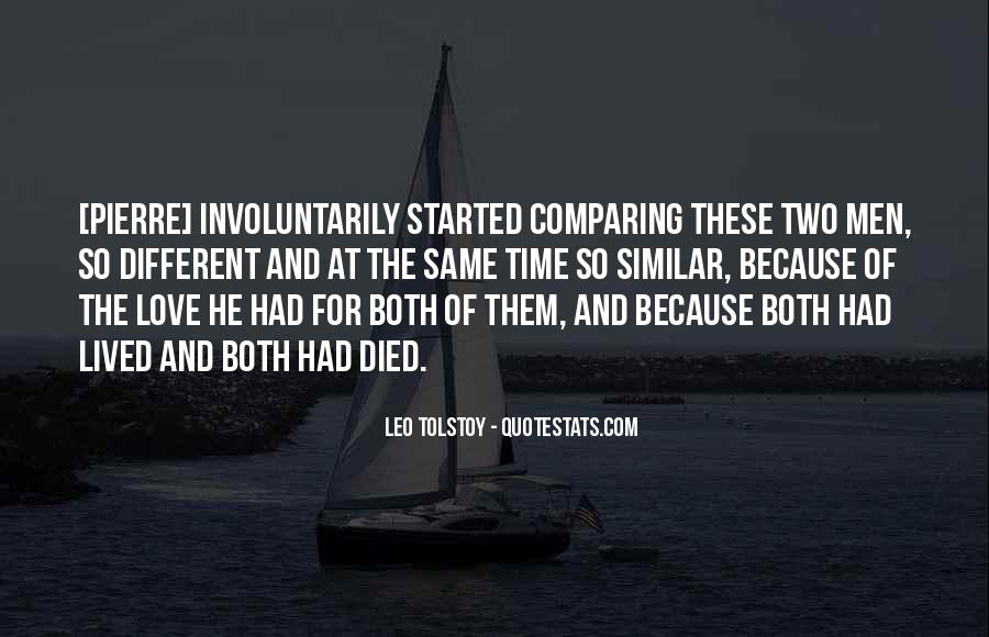Love These Two Quotes #1405553