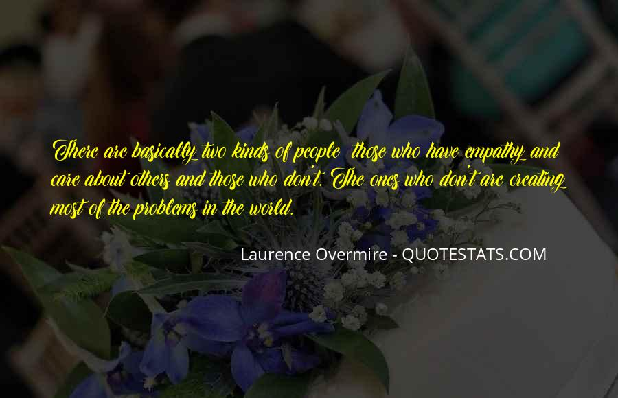 Love Those Who Care Quotes #1047222