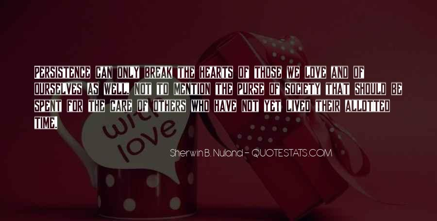 Love Those Who Care Quotes #1286529