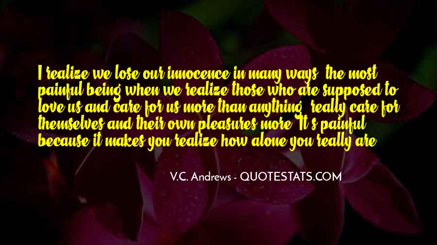 Love Those Who Care Quotes #394302