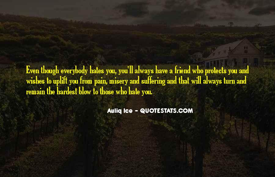 Love Those Who Hate You Quotes #1842076