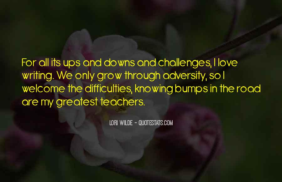 Love Through Difficulties Quotes #923782