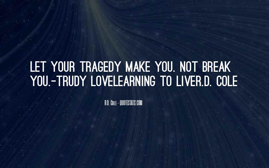 Love Tragedy Quotes #235145