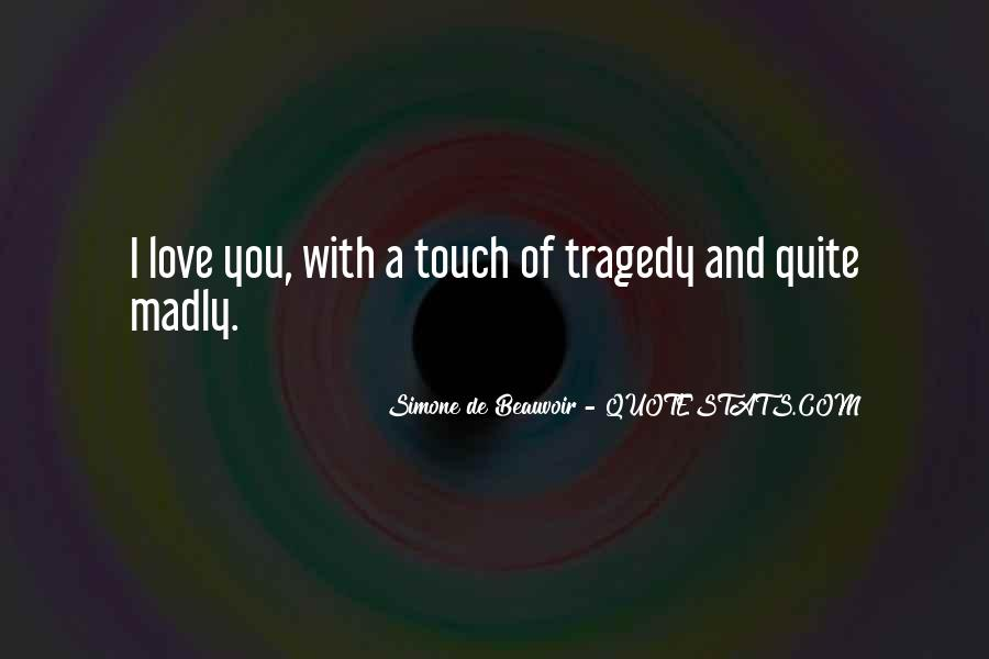 Love Tragedy Quotes #242671