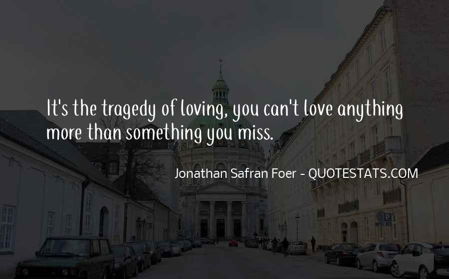 Love Tragedy Quotes #244755