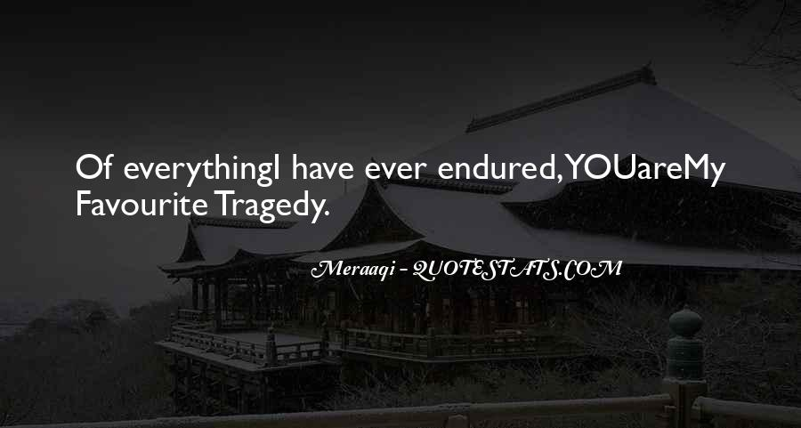 Love Tragedy Quotes #253035