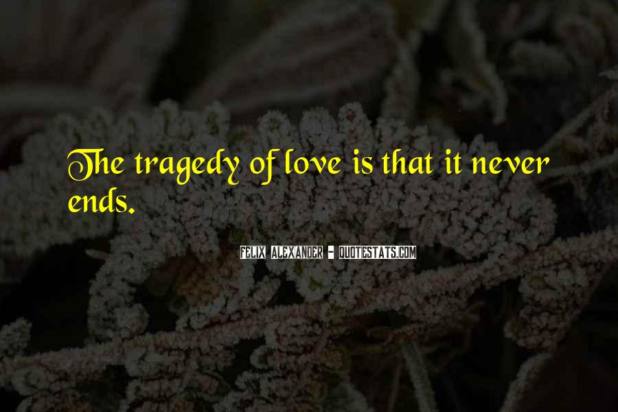 Love Tragedy Quotes #379010