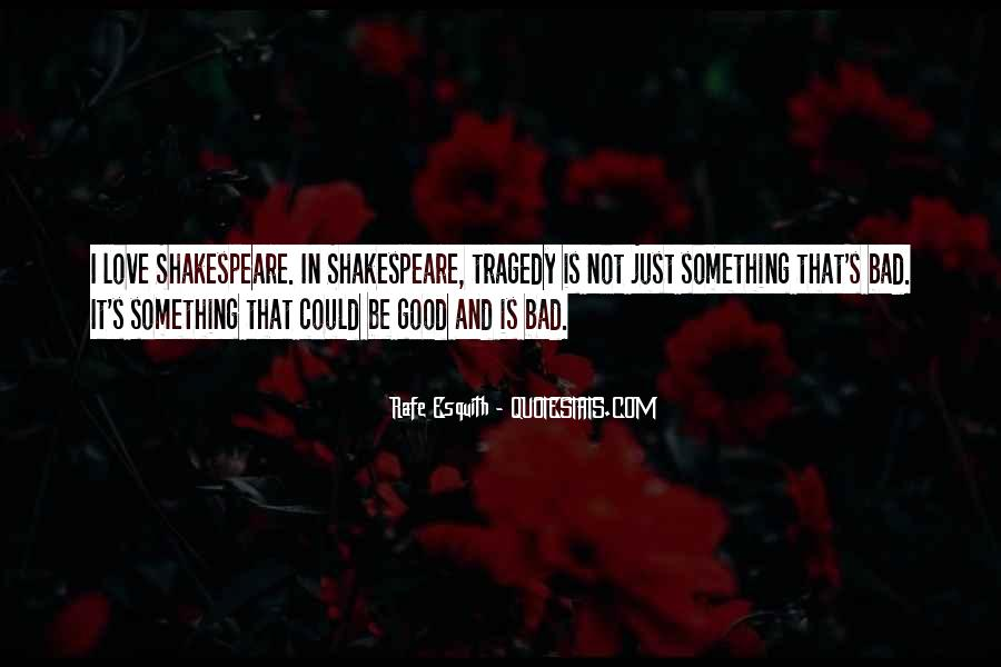 Love Tragedy Quotes #449707