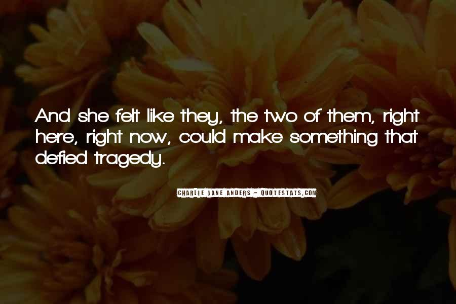 Love Tragedy Quotes #463477