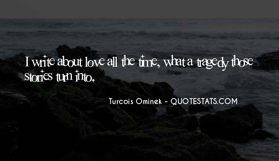 Love Tragedy Quotes #476735