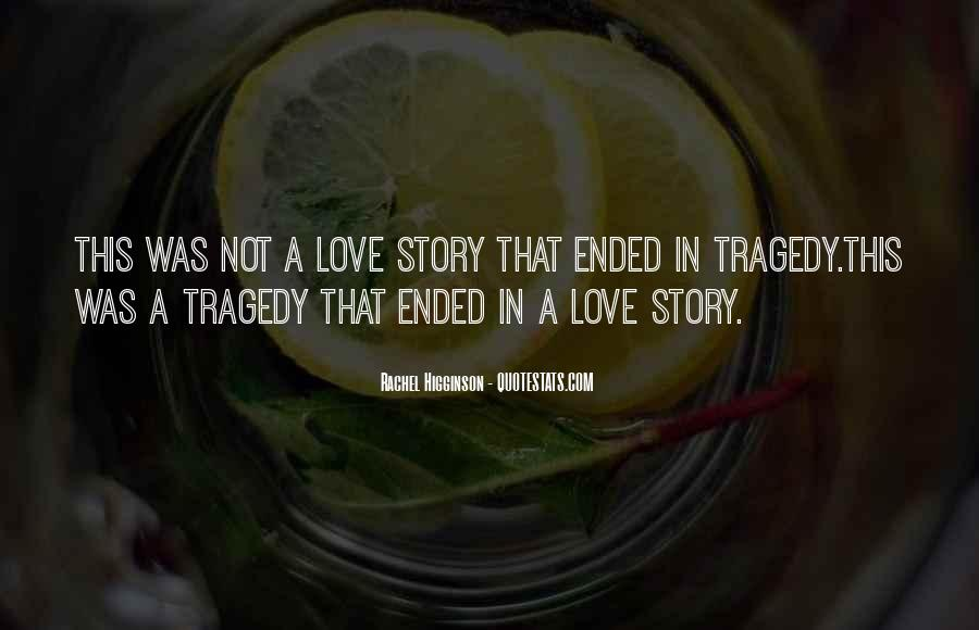Love Tragedy Quotes #536927