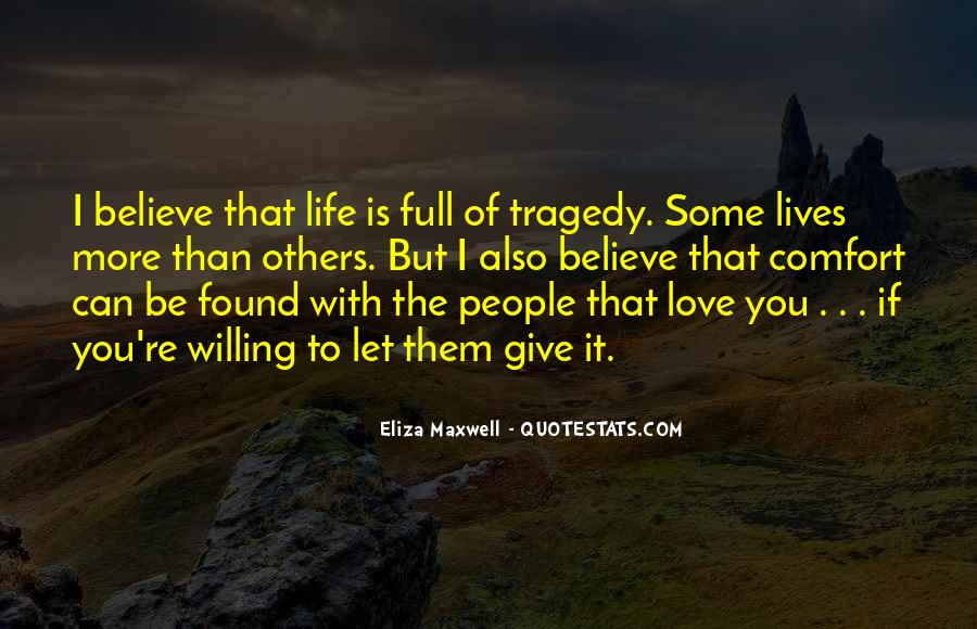 Love Tragedy Quotes #550230