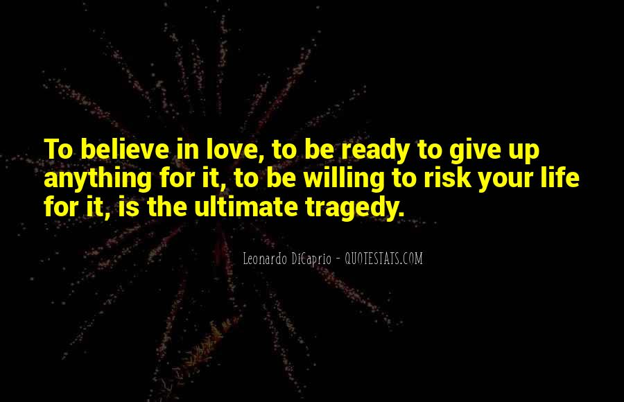 Love Tragedy Quotes #665790