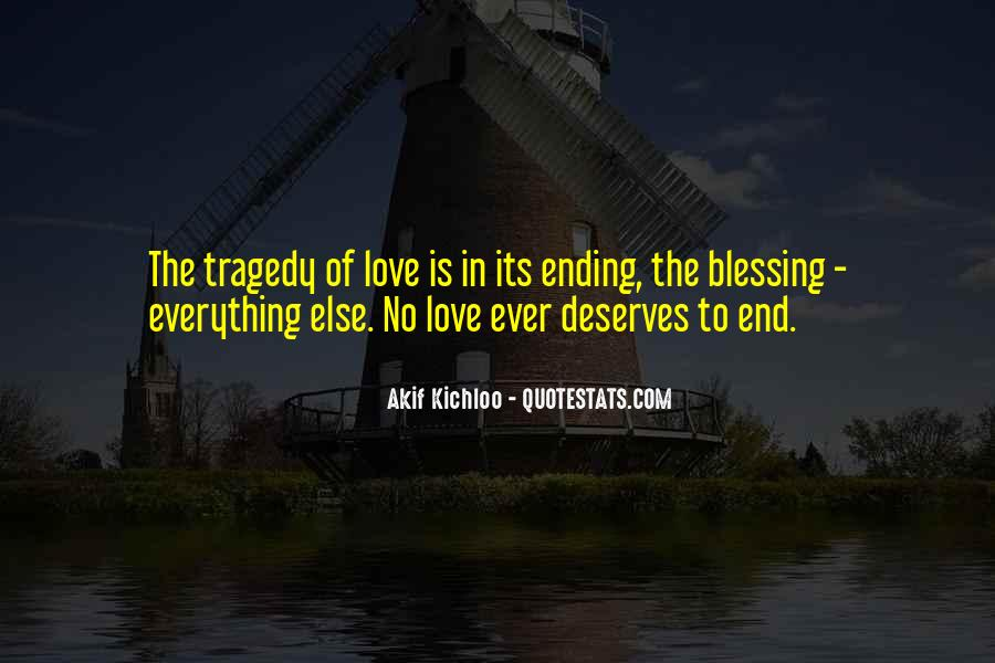 Love Tragedy Quotes #704066