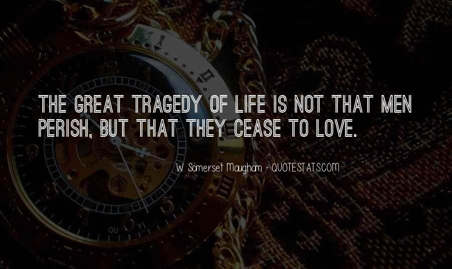 Love Tragedy Quotes #716841